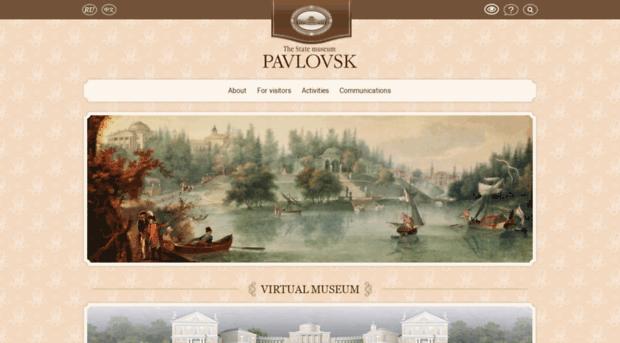 Pavlovsk palace and park