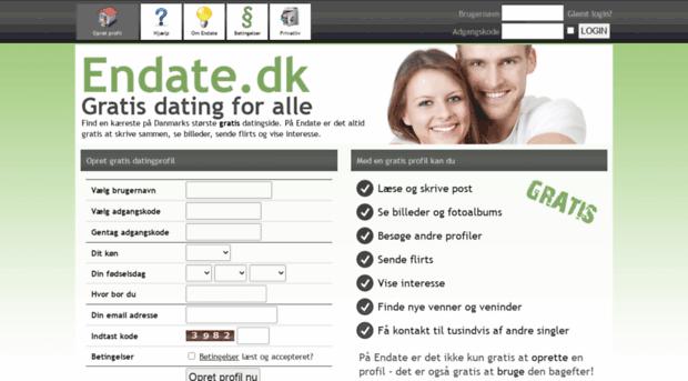 Gratis online dating dk