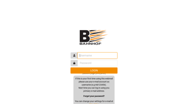 bahnhof mail server