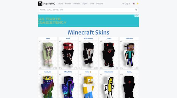 Esnamemccom NameMC Minecraft Names Skin Es NameMC - Minecraft namemc skins