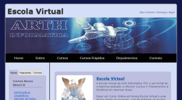 E-manual escola virtual