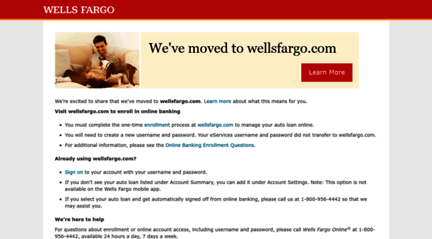 Wells Fargo Car Loans: Eservices.wellsfargodealerservices.com