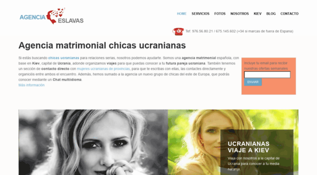 Mujeres rusas y ucranianas para matrimonio