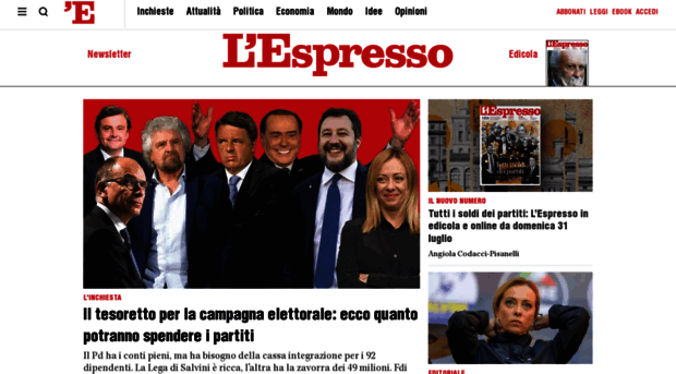 espressonline.it