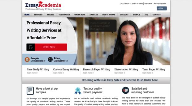 essayacademia plagiarism