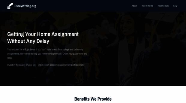 website for posting essays