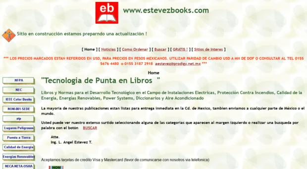 estevezbooks.brinkster.net - www.estevezbooks.com - Estevezbooks ...