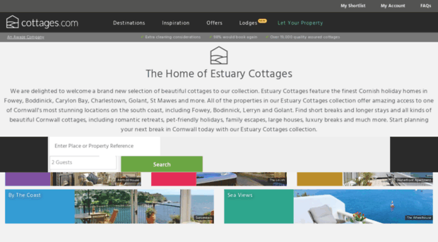estuarycottages.co.uk
