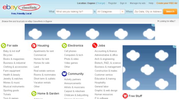 eugene kijiji com - Eugene Classifieds - Free Clas    - Eugene Kijiji