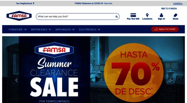 famsa us - Furniture, Electronics, Applia    - Famsa