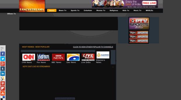 fancystreams com - Live Tv Channels Free Online S    - Fancystreams