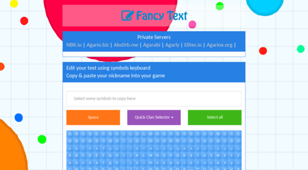 Fancytext Fancy Text Nickname Generato Fancy Text