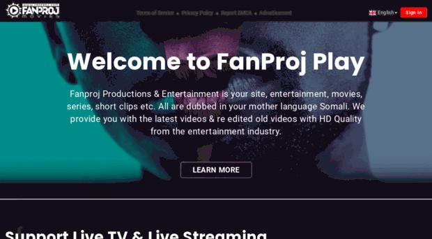 fanproj com - Fanproj Productions | Home of     - Fanproj