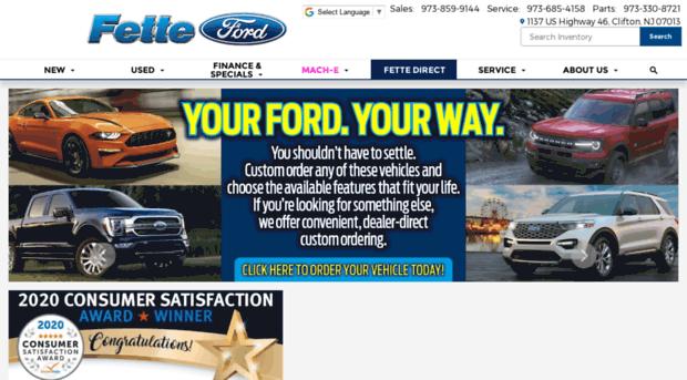 Keywords Ford edge SUV explorer dealer used cars nj kia  sc 1 st  Sur.ly & fetteford.com - Fette Ford | Ford Dealer Servi... - Fette Ford markmcfarlin.com