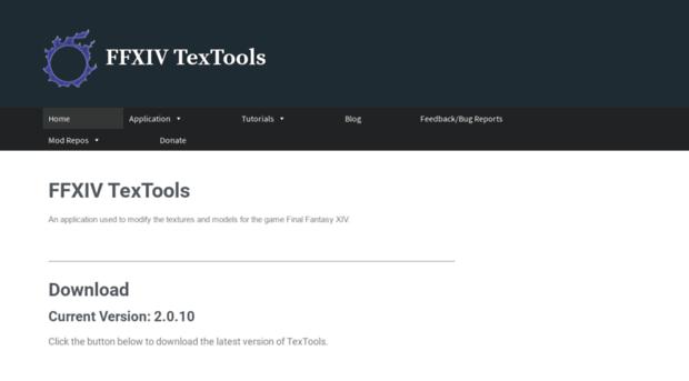 ffxivtextools dualwield net - FFXIV TexTools – An applicatio
