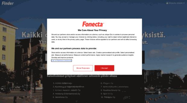 Yrityshaku fonecta