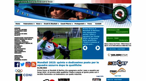 Fitarco Italia Org Gare Calendario.Fitarco Italia Org Fitarco Federazione Italiana