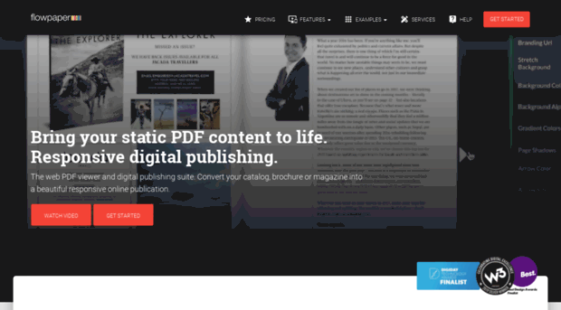 FlowPaper: Responsive online PDF viewer for your website