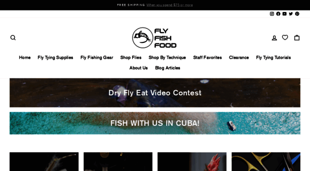 flyfishfood com Fly Fish Food -- Fly Tying and Fly Fishing