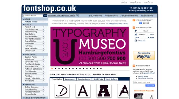 fontshop co uk - Fonts - Buy Fonts and Download    - Fontshop