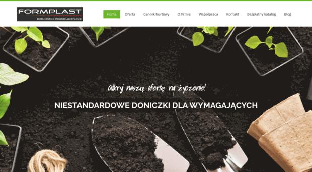 Formplastpl Formplast Producent Doniczek Formplast