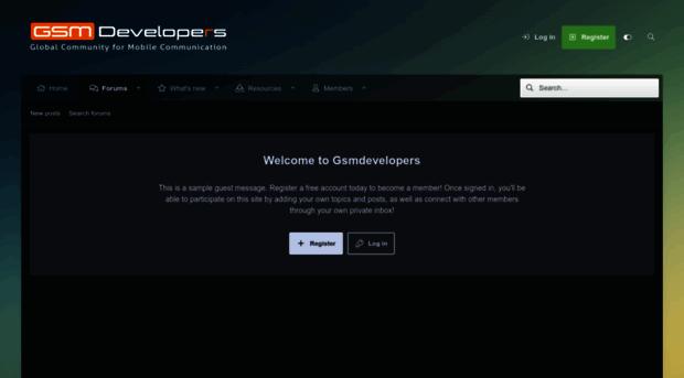 Gsm Developers Forum - The Best Developer Images