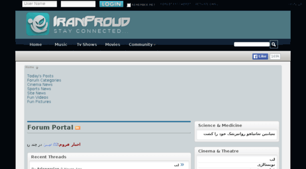 forum iranproud com - -[IranProud]- - Home - Forum Iran Proud