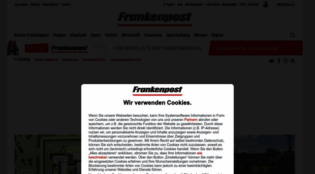 Frankenpost App - Home