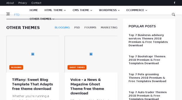 free-theme-download com - Free and Premium Themes 2018 download