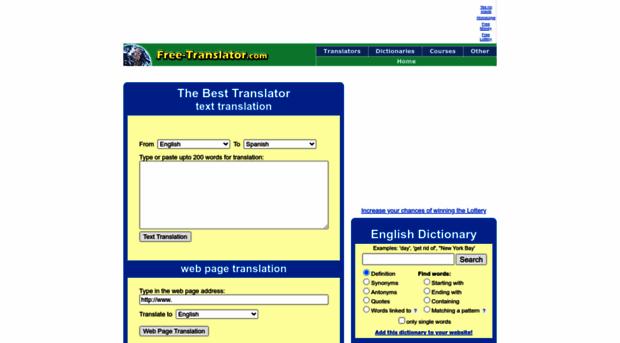 FREETRANSLATORCOM  The best free translator