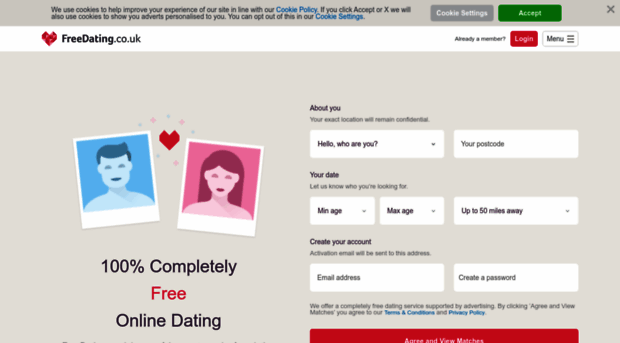 free online dating no registration