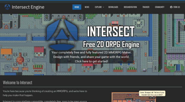freemmorpgmaker com - Intersect Engine - Free 2D MMO