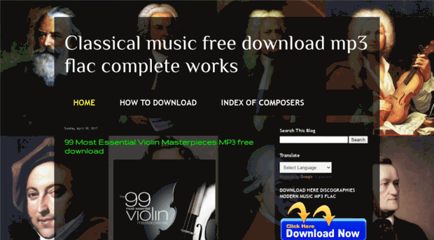 freemusicmp3flac blogspot com co - Classical music free download