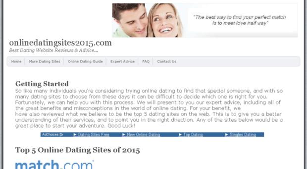 Best dating online sites 2015