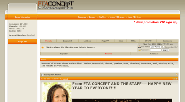 ftaconcept com - FTA Receivers Bin Files Forums Private Servers