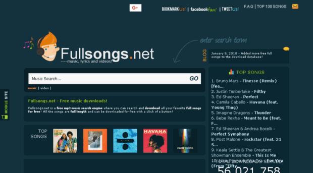 fullsongs net - Fullsongs net - Free full mp3 songs and music video