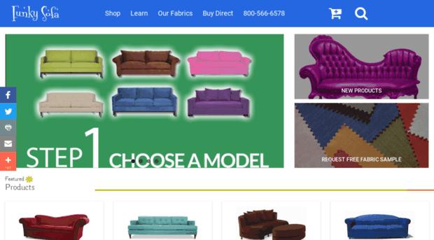Custom Sofa Manufacturer | FunkySofa.com