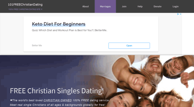 Christian Dating Site – Christian Connection™