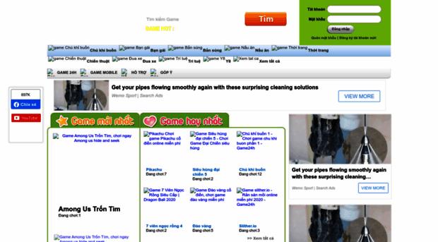 Game 24h mới nhất - Chơi game online miễn phí hay nhất