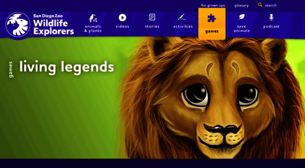 games sandiegozoo org - Games | San Diego Zoo Kids - Games