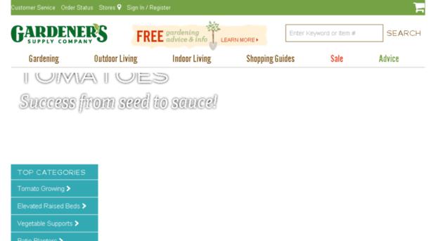 Gardenerssupply.com   Garden Tools, Planters, Raised...   Gardener S Supply