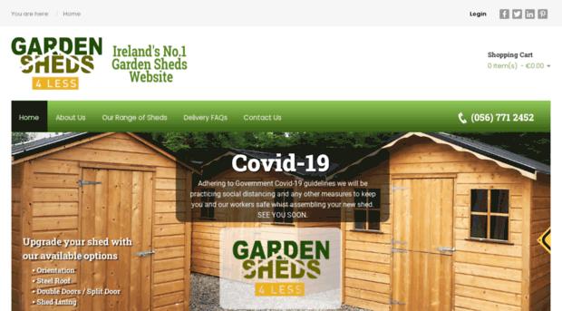 Ie Garden Sheds Ireland Timber Garden