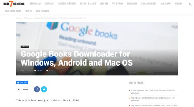 gbooksdownloader com - Google Books Downloader for Wi    - G