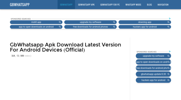 Whatsapp gb 8.20 free download