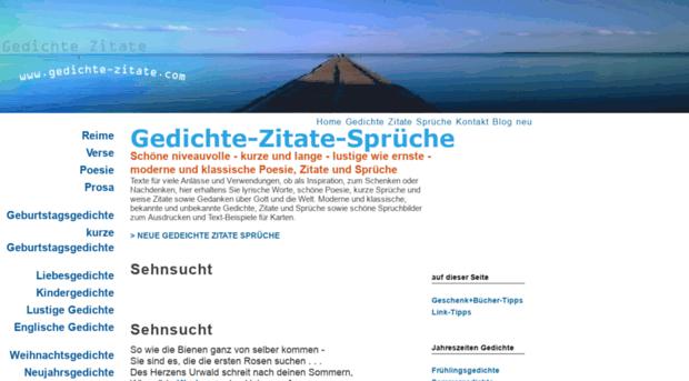 Gedichte Zitatecom Gedichte Sprüche Zitate
