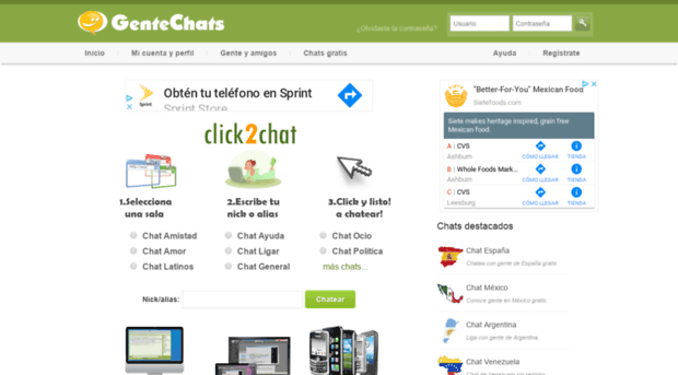 ea4619bbb1f2f gentechat.org - GenteChats - Chat gratis. Haz ... - Gente Chat