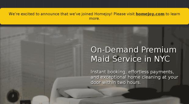 Get maid on demand premium get maid for Premium on demand
