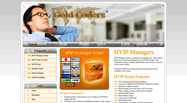 Hyip manager