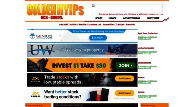 Hyip monitor websites