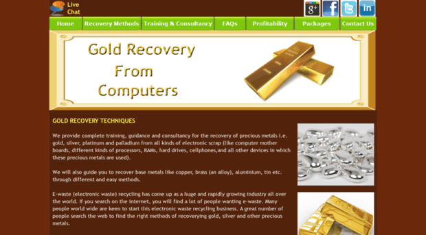 Gold recovery from electronics pdf download